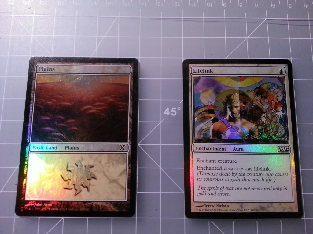 Two cards to composite